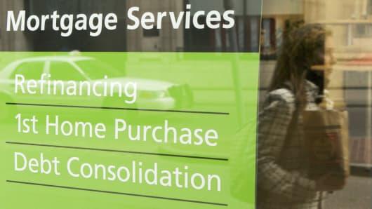 H&R Block Mortgage sign